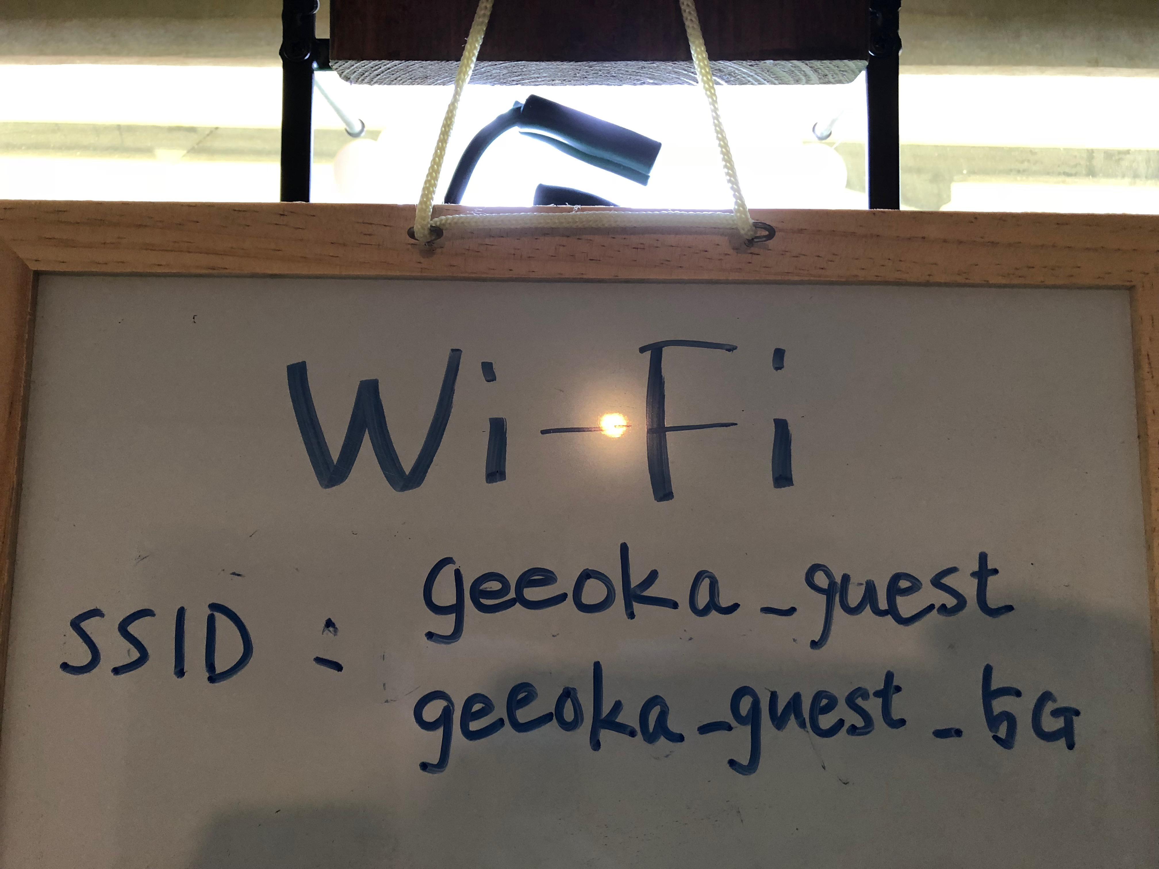 回線速度とwifiのSSIDについてのサムネイル画像