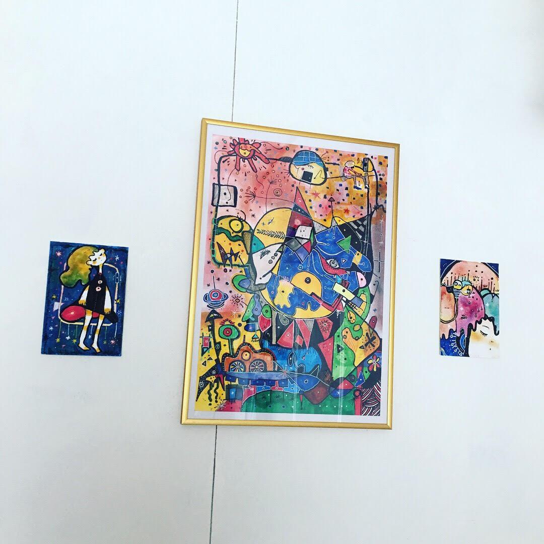 イラストの展示をしています!のサムネイル画像